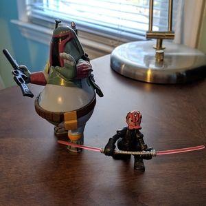 Disney Star Wars crossover Donald Duck figures